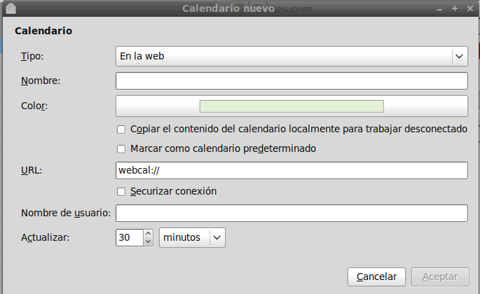 Dos formas de sincronizar Evolution con Google Calendar (3/5)