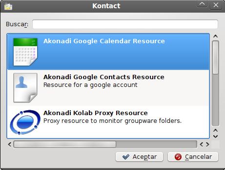 Sincroniza los calendarios de Google con Kontact (Korganizer) (4/4)