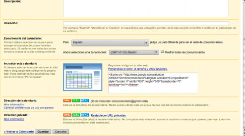 Dos formas de sincronizar Evolution con Google Calendar (4/5)