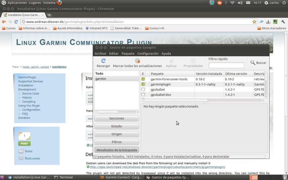 Ubuntu y GPS Garmin, registra tus entrenamientos en 3 pasos. (3/5)