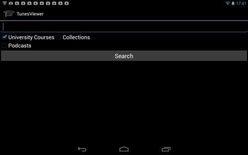 Tunesviewer android  iTunes U